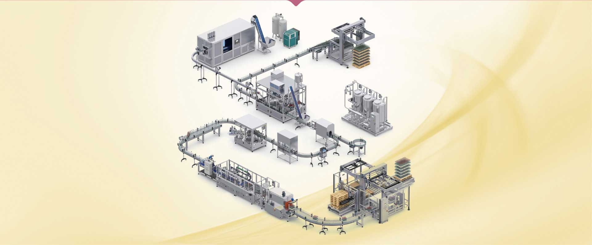 Wine Filling Production Line